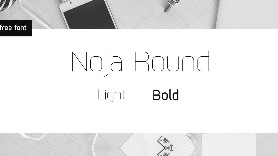 noja round free font