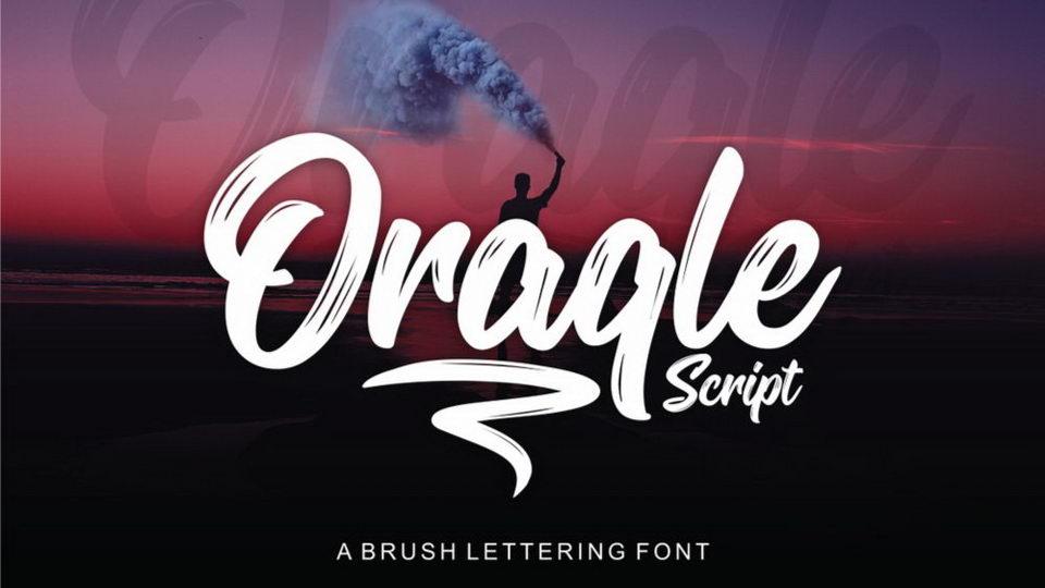 oracle script free font