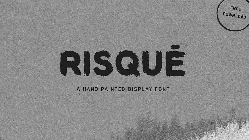 riaque free font