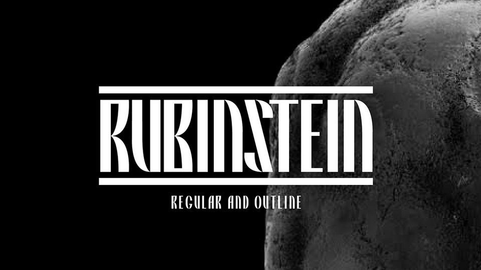 rubinstein free font
