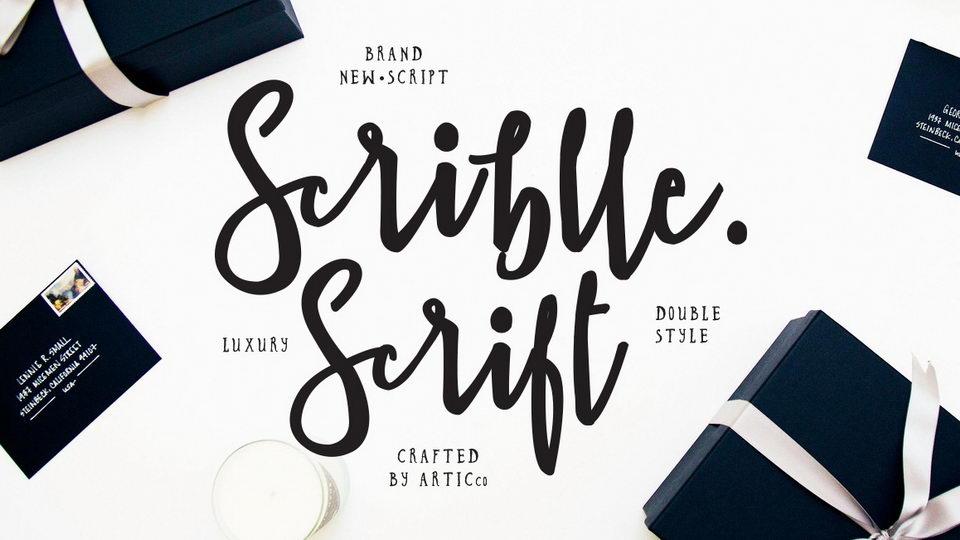 scribble script free font