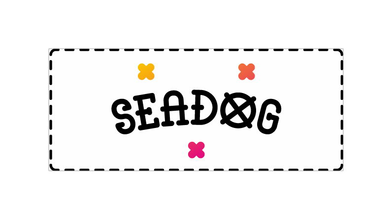 sea dog free font