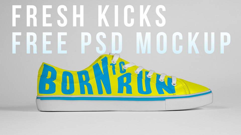 shoe free mockup