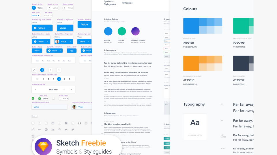 sketch style guides