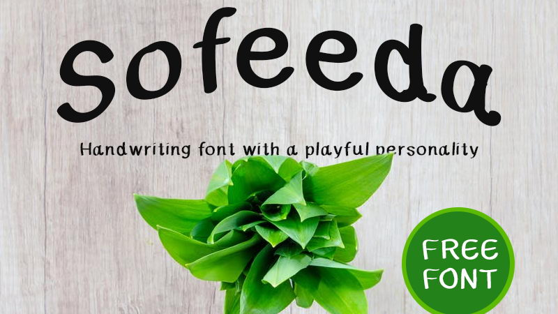sofeeda free font