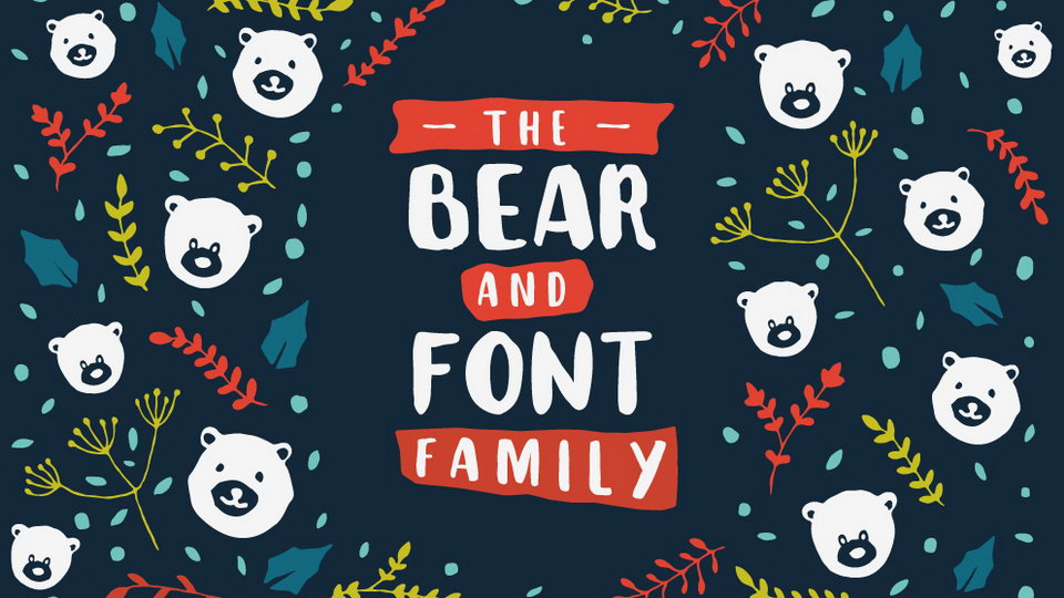 the bear font free