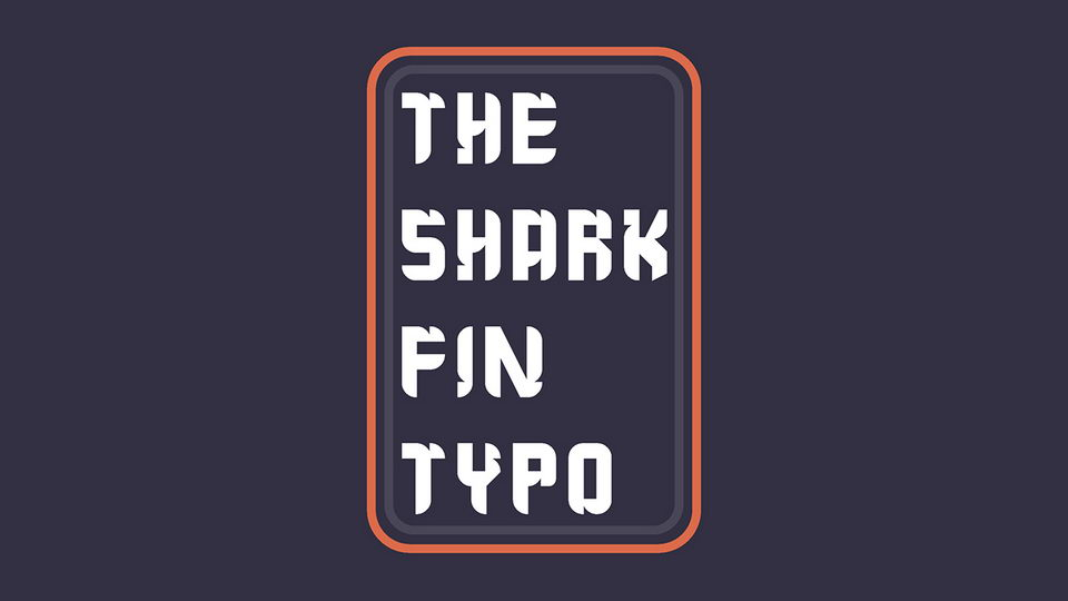 the shark fin typo free