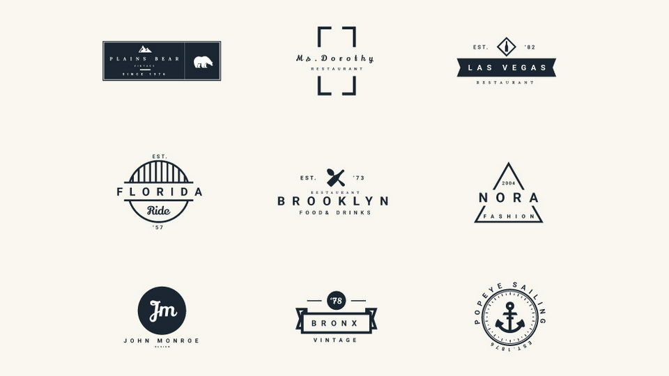 vintage logo free download