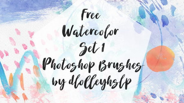 watercolor brush set free