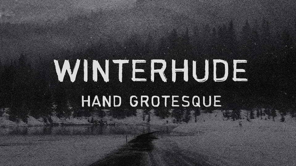 winterhude free font download