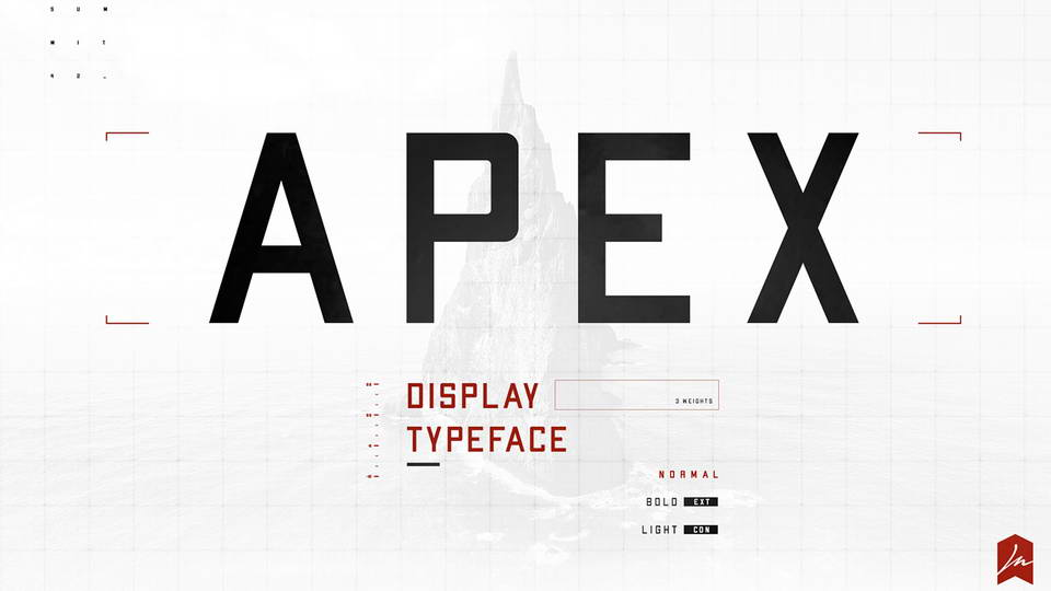 apex free font