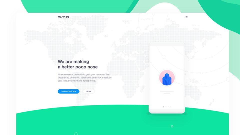 app landing page free