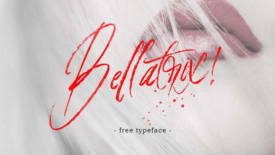bellatrix free font
