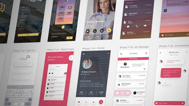 chat app ui kit
