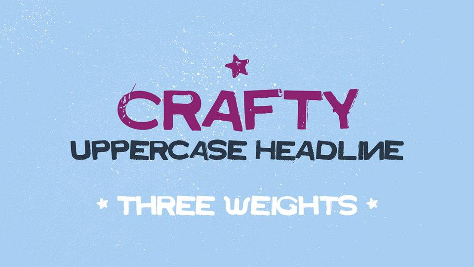 crafty free font