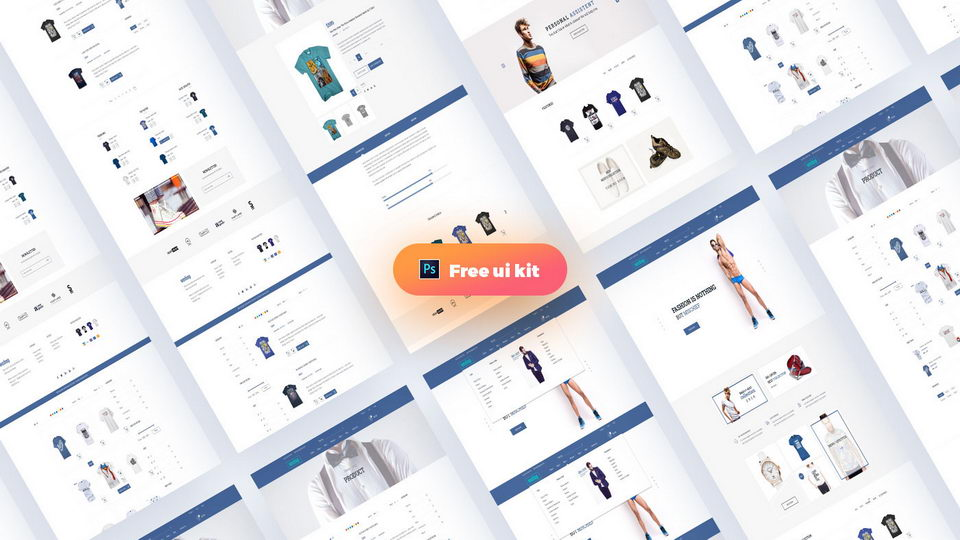 ecommerce web psd