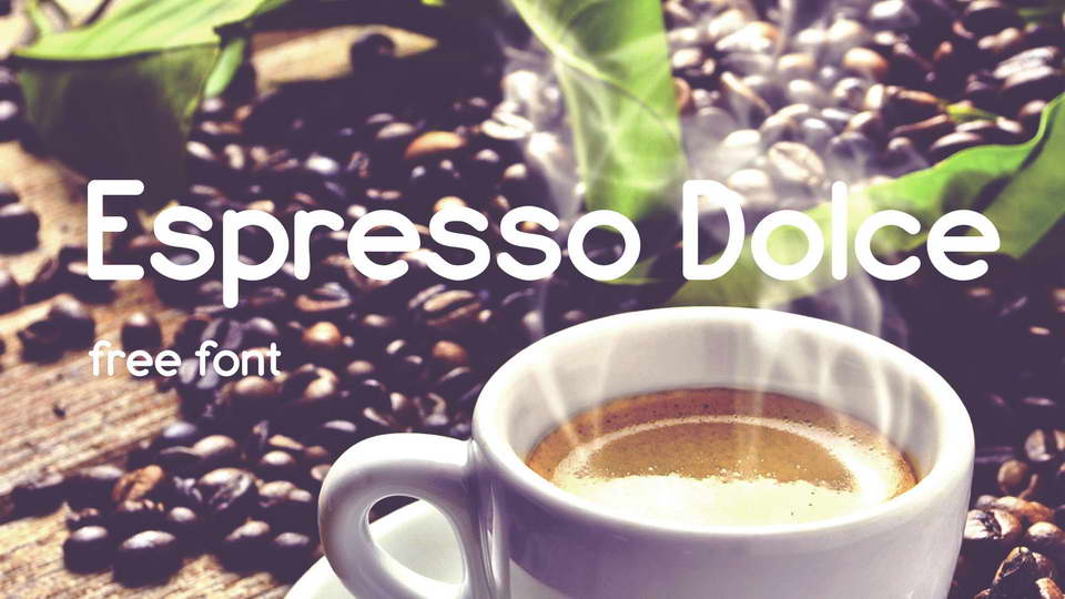 espresso dolce font