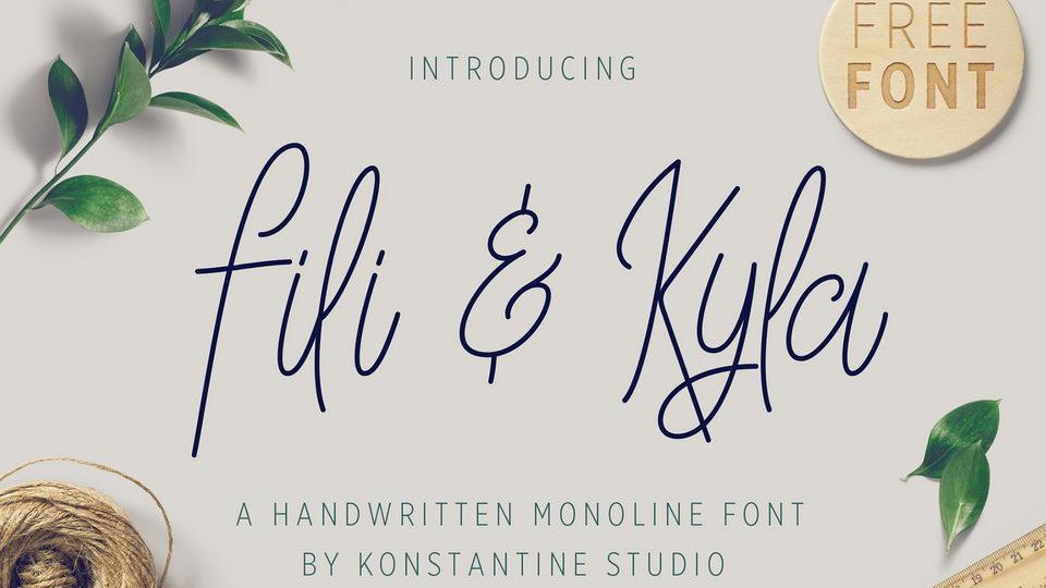 fili kyla free font
