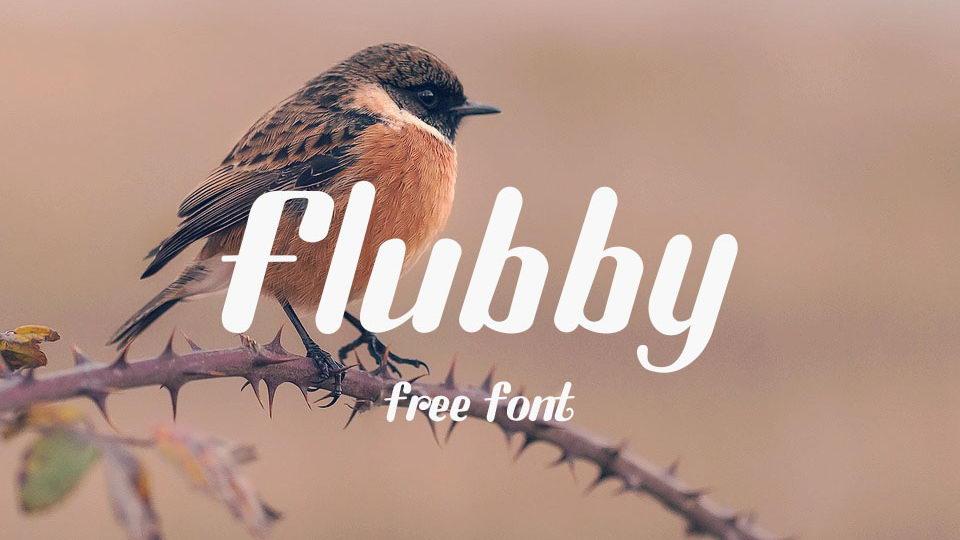 flubby font