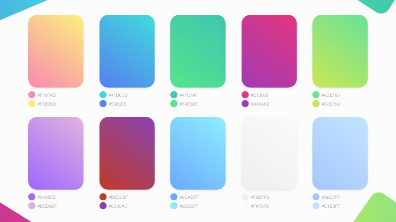 free gradients sketch