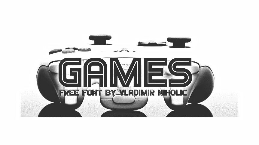 games free font