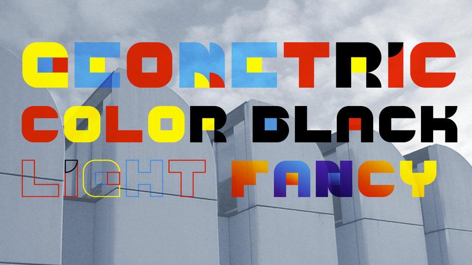 geometric font free