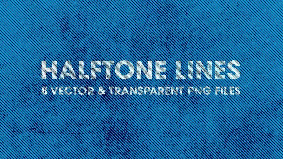 halftone line textures