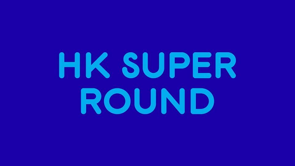 hk super round font