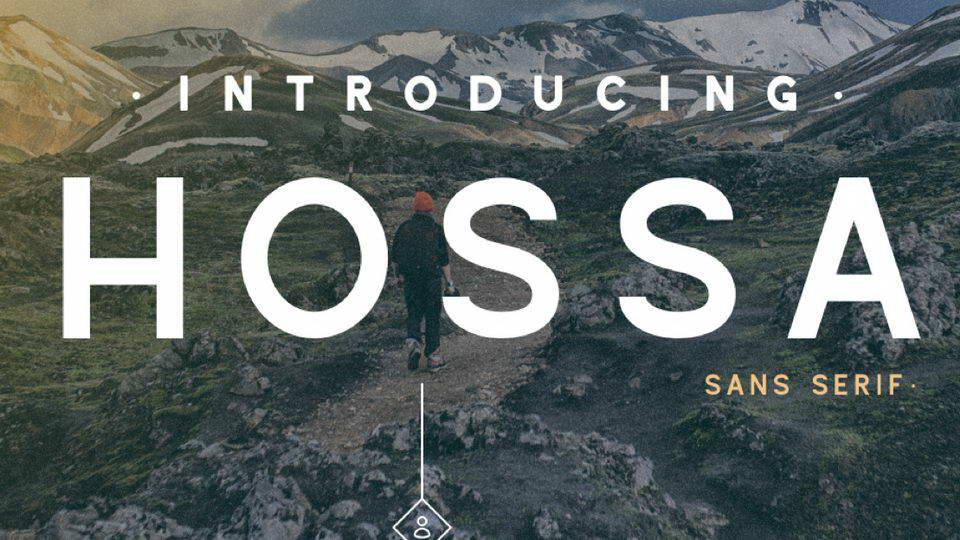 hossa free fonts