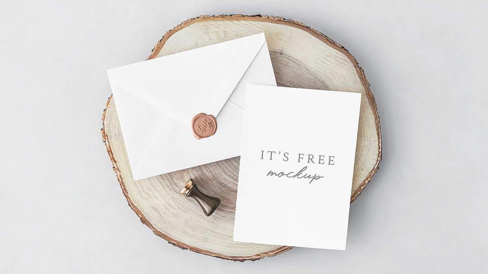 invitation mockup free