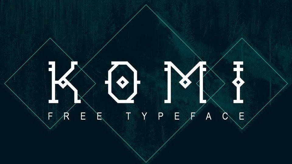komi free font