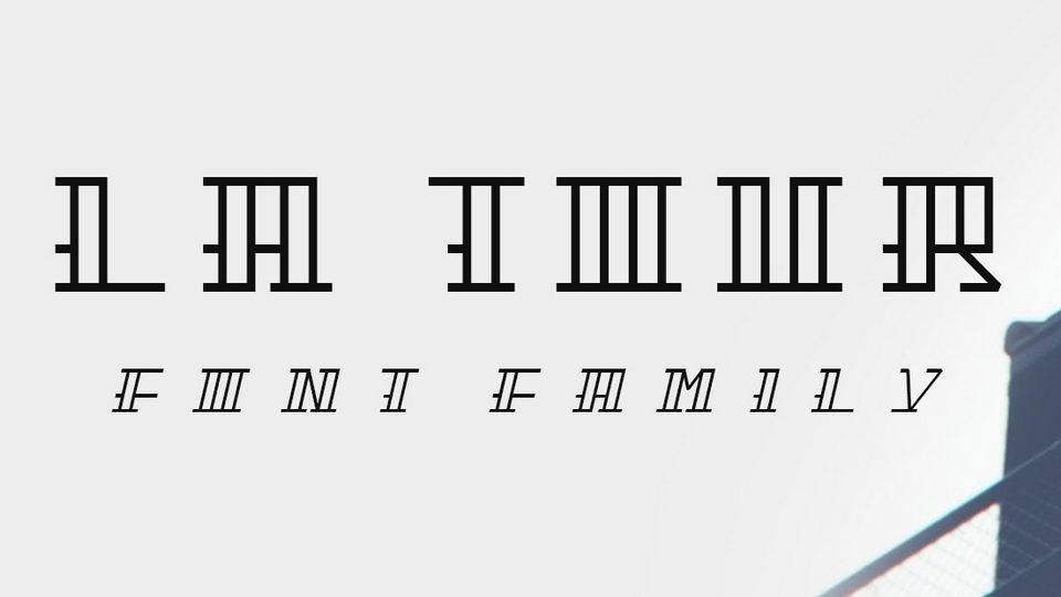 latour free font