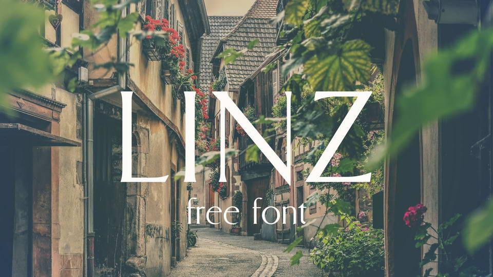 linz free font