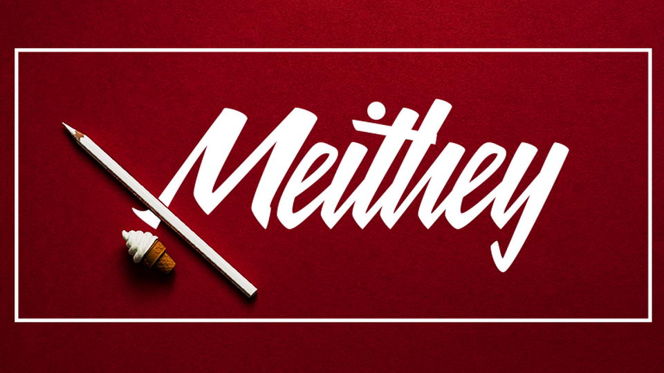 meithey free font