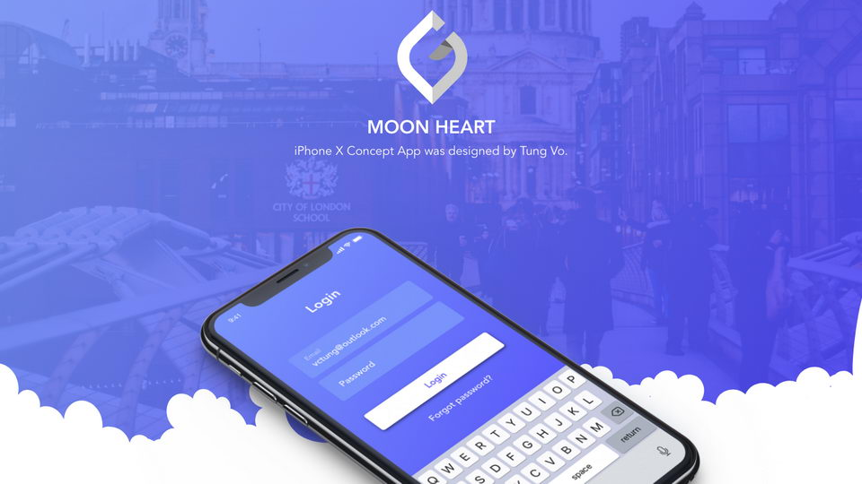 moon heart ui kit