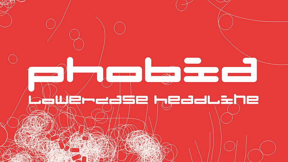 phobia free font
