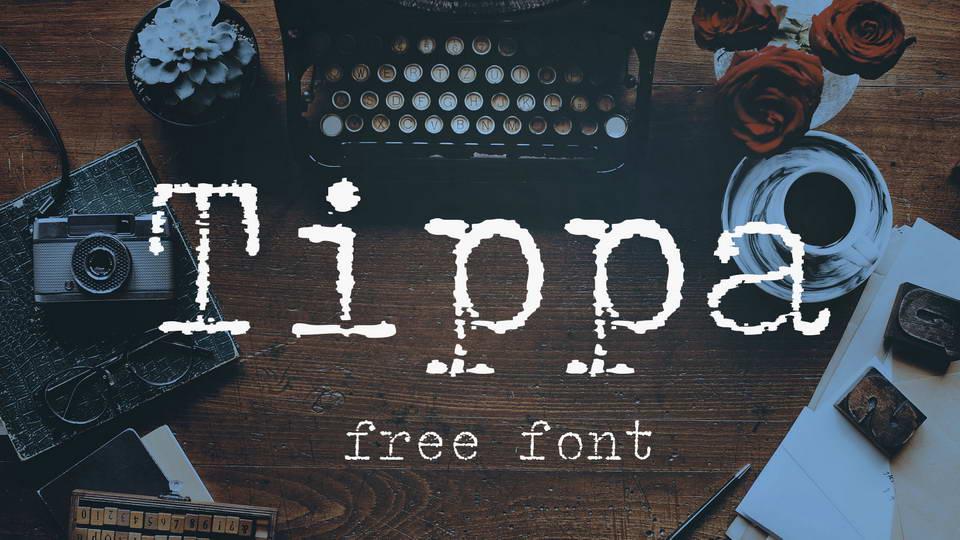 tippa free font