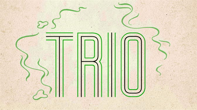 trio free font