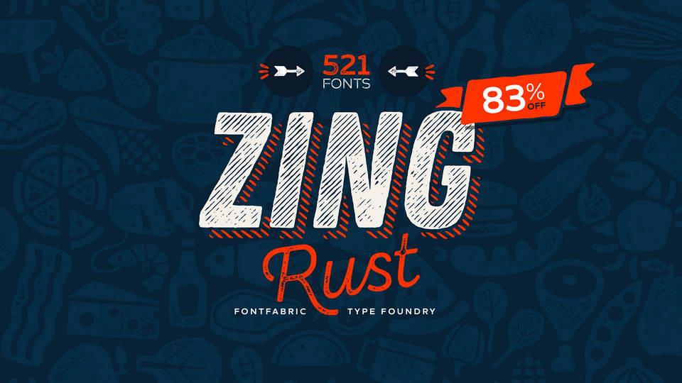 zing rust font download