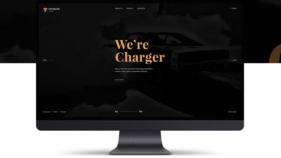 charger free web template