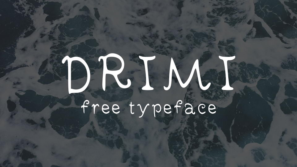 drimi free font