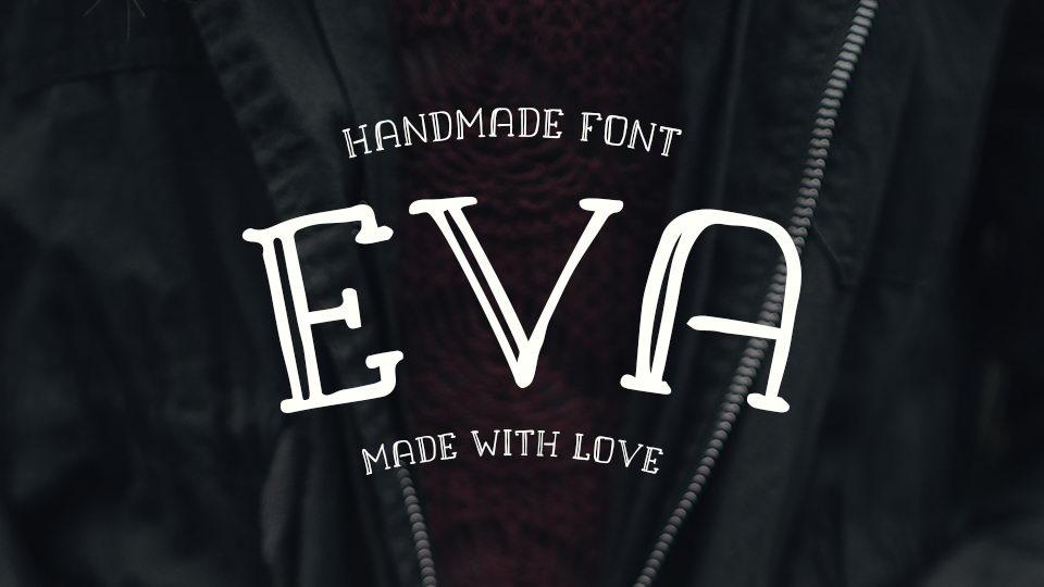 eva free font
