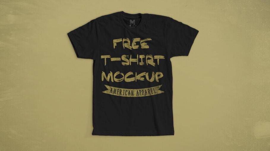 free tshirt mockup