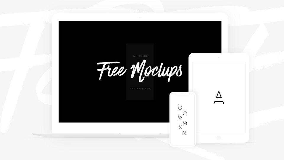 free white mockups
