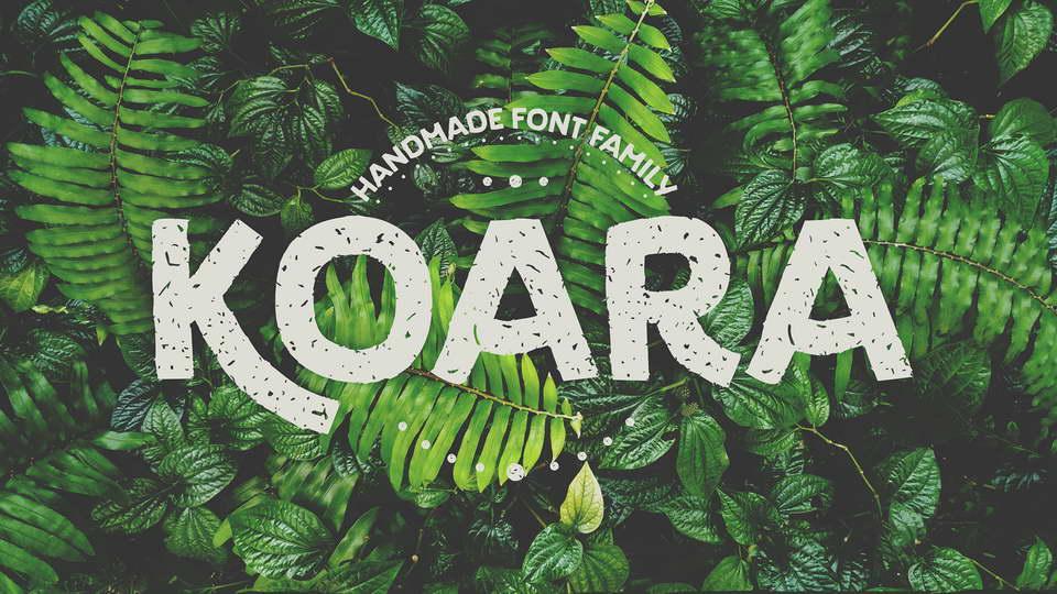 koara free font