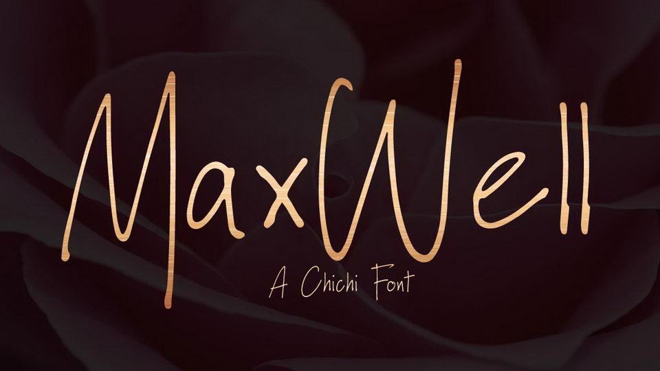 maxwell free font