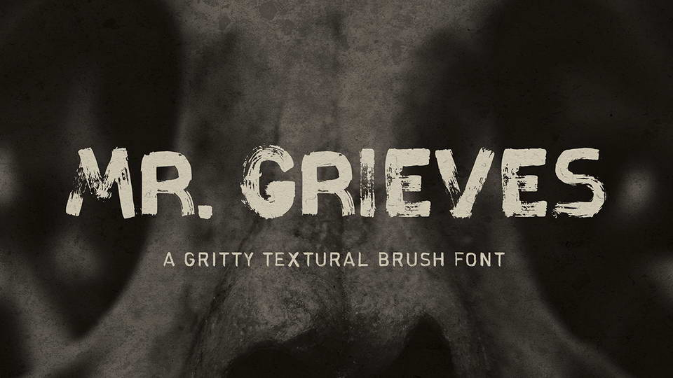 mr grieves free font