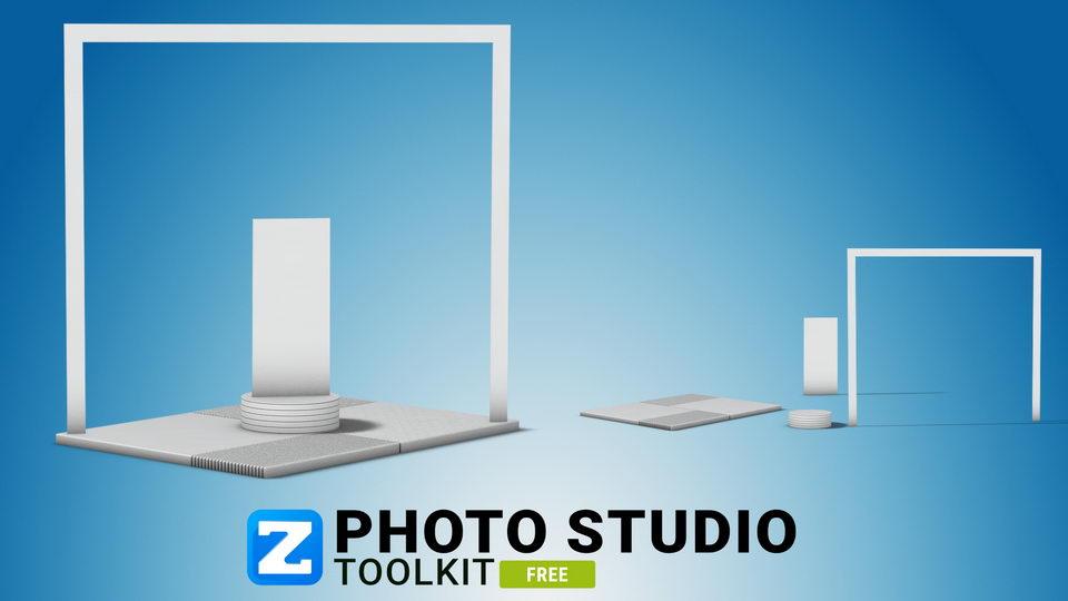 photo studio mockup