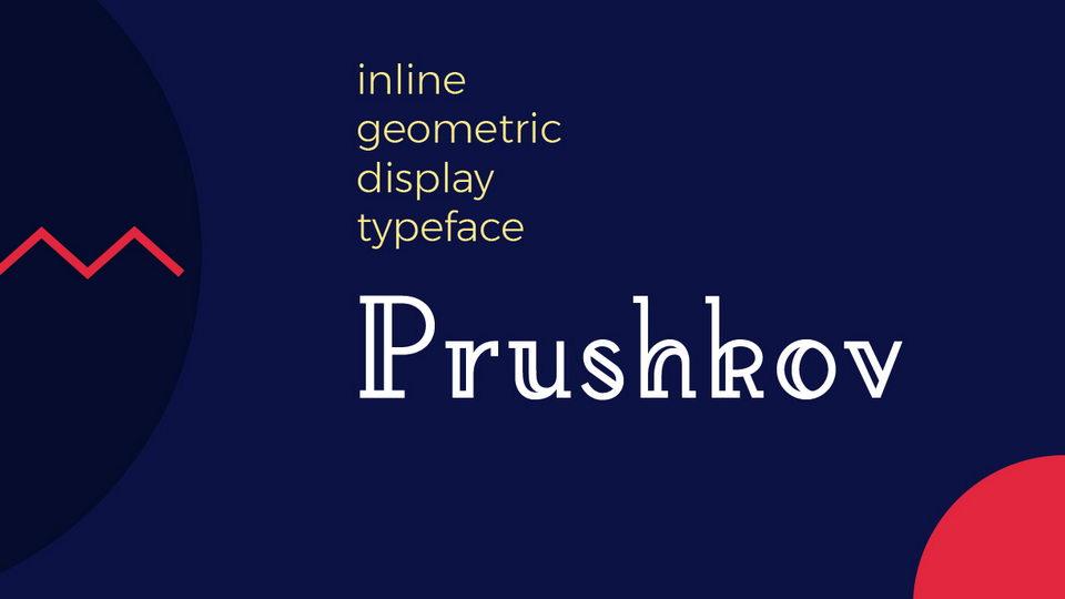 prushkov free font