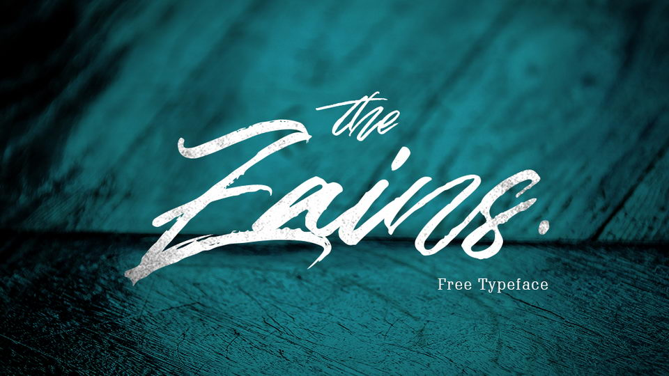 the zains free font